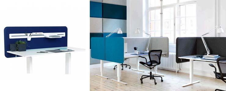acustica per ufficio: domo table, abstracta